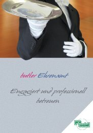 butler Ehrenamt Engagiert und professionell ... - prosozial GmbH