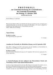 Protokoll öffentlich - Prosselsheim