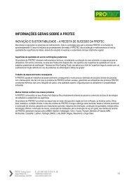 informações gerais sobre a protec - PROTEC Trading GmbH