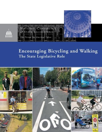 Encouraging Bicycling and Walking