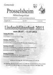 Prosselsheim