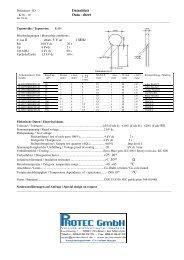 HV-Kondensatoren Vishay Replacement