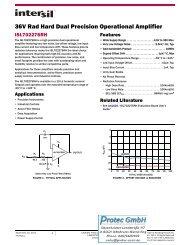 ISL70227SRH 36V Rad Hard Dual Precision Operational Amplifier