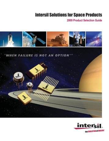 Intersil Solutions for Space Products