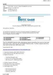 PWM 1823 in Space Ausführung - Protec GmbH