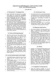 AGBs als PDF downloaden - Protec GmbH