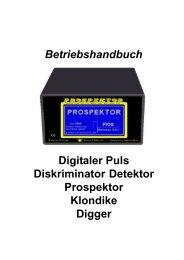 Propektor/Digger/Klondike - Proton Elektronik