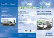 HyRange, flyer, German, pdf - Proton Motor Fuel Cell GmbH