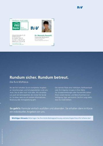 Angebotsformular zur Kfz-Versicherung - PSD Bank Hessen ...