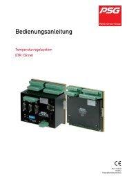 Bedienungsanleitung - psg-online.de