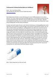 Verbessertes Farbwechselverhalten im Heißkanal - psg-online.de