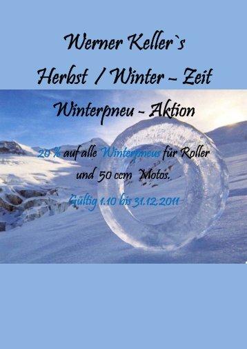 Werner Keller`s Herbst / Winter – Zeit - Werner Keller AG