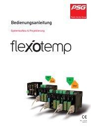 Temperaturregelsystem flexotemp Systemaufbau ... - psg-online.de