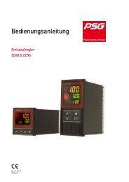 Einkanalregler EC48 & EC96 - psg-online.de