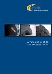 2005 LUPOS Schuhfabrik - PSL Arbeitskleidung