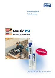 Mastic STOPAQ® 2100 - PSI Products GmbH