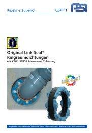 Link-Seal® mit KTW / W270 Trinkwasser Zulassung - PSI Products ...