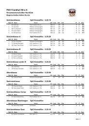Kreismeisterschaft 2010 - psv-ffo.de