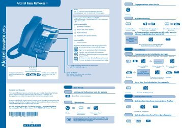 Alcatel Easy Reflexes TM