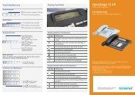 Schnelleinstieg OpenStage 15 SIP - Siemens Enterprise ...