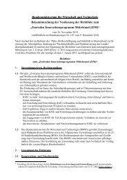 Richtlinie - Zentrales Innovationsprogramm Mittelstand (ZIM)