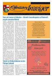 Kunst und Literatur im Schlösschen – Kulturelle ... - Püttlingen
