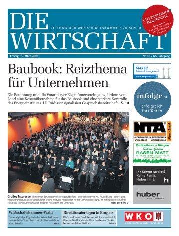 Die Wirtschaft Nr. 10/2010