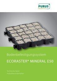 ECORASTER® MINERAL E50 - purus-plastics.de