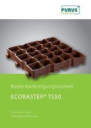ECORASTER® TS50 - PURUS PLASTICS