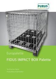 Datenblatt FIDUS IMPACT BOX Palette - PURUS PLASTICS