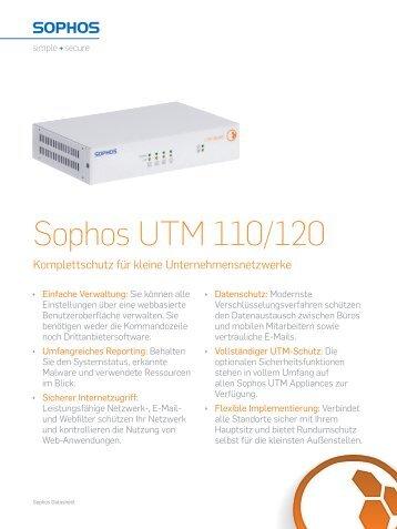 sophos utm 110 120 manual