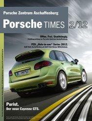 """""""Hole-in-one"""" Series 2012 - Porsche Zentrum Aschaffenburg"""