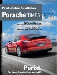 Ausgabe 4/11 - Porsche Zentrum Aschaffenburg