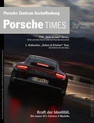 Ausgabe 3/12 - Porsche Zentrum Aschaffenburg