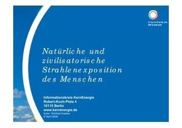 Natürliche und zivilisatorische Strahlenexposition des Menschen, 04 ...