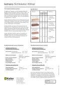 Prospekt kemano-Sichtsteine / kemano-Klinker - Keller AG Ziegeleien - Seite 2