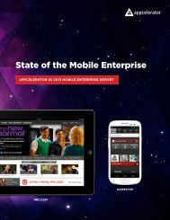 State of the Mobile Enterprise