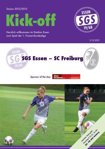 SGS Essen – SC Freiburg