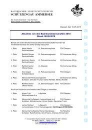 Ergebnisse 2010 - SG Ammersee Utting