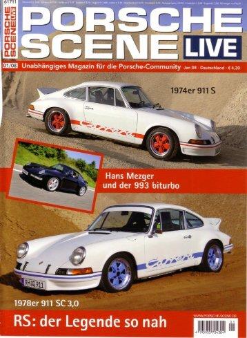 Porsche scene live