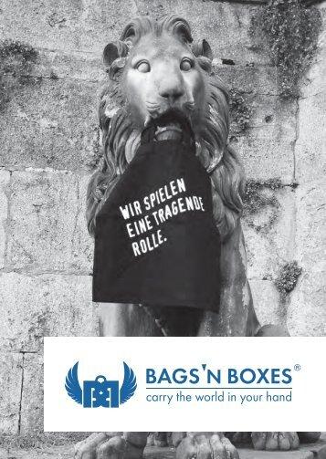 Bags'n Boxes Katalog 2013