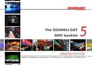 The SOUNDLIGHT DMX booklet 5