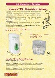 Desinfektions-WC-Sitzreiniger - SHS - Sanitär-Hygiene-Service