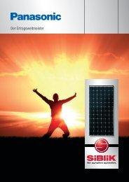 Panasonic Module - Siblik Elektrik Ges.m.b.H. & Co. KG