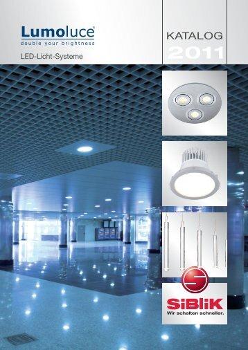 Lumoluce Katalog 2011 - Siblik Elektrik Ges.m.b.H. & Co. KG