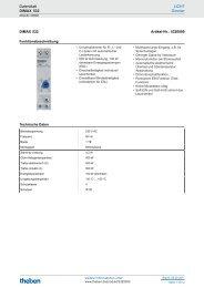 Technische Daten Dimax 532