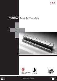 PORTEO Technische Dokumentation