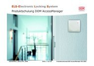 DOM AccessManager