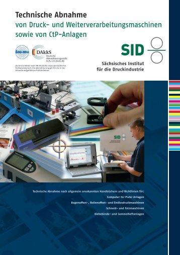 Technische Abnahme - Sächsisches Institut für die Druckindustrie ...