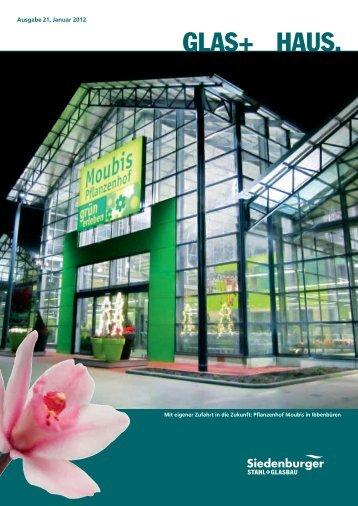 Glashaus 01/2012 - Siedenburger Stahl + Glasbau